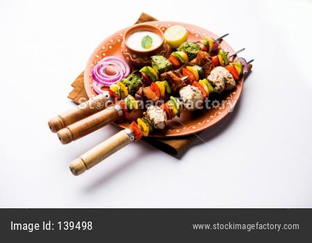 Chicken tikka /skew Kebab