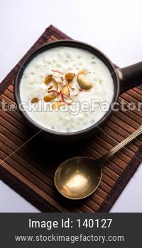 Sago or Sabudana Porridge or Lapsi is a baby food in India