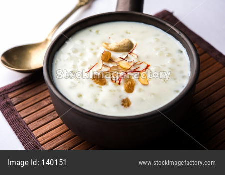 Sago or Sabudana Porridge or Lapsi is a baby food in India