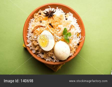 Egg Biryani - anda biryani