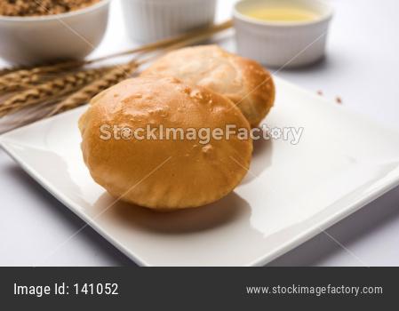 Fried Puri or Poori
