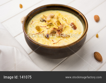 Rice Kheer or Rice pudding