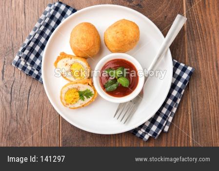 Egg Pakora or Pakoda