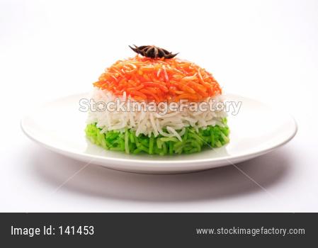 Tricolour Rice / Tiranga Rice