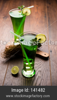 Khus Sharbat or Vetiver Drink