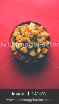 Dry Aloo Sabzi / Bombay potatoes