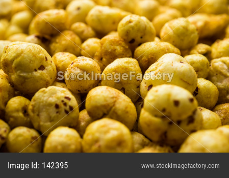 Roasted makhana / Phool Makhana or Crispy Lotus pops Seed