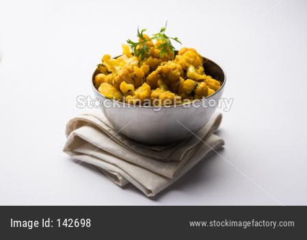 Dry Gobi Masala/ cauliflower Sabzi