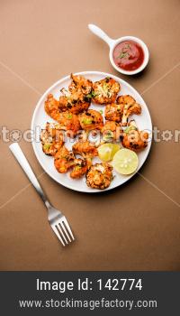 Tandoori Gobi / Roasted cauliflower Tikka