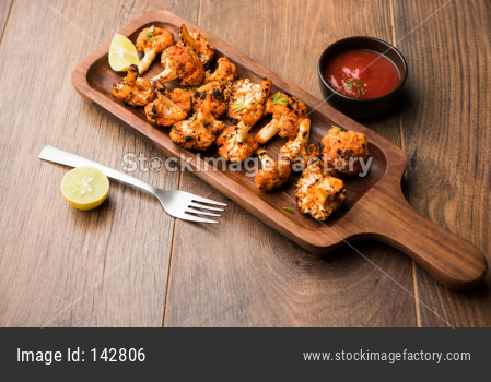 Tandoori Gobi / Roasted cauliflower Tikka