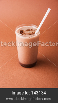 chocolate shake drink