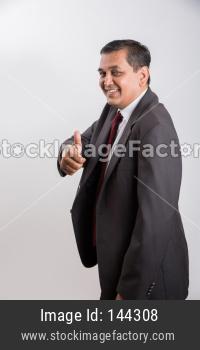 portrait of Indian handsome Businessman