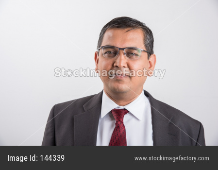 portrait of Indian handsome Businessman