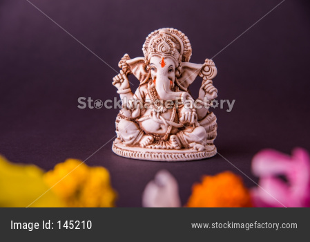 Ganesha idol for Ganesh Chaturthi festival