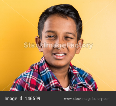 Portrait of Small Indian boy / Kid