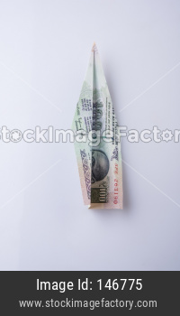Indian Currency plane / aeroplane / Airplane