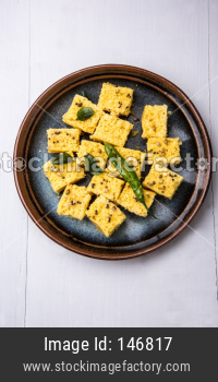 Khaman Dhokla is a gujrathi savory snack