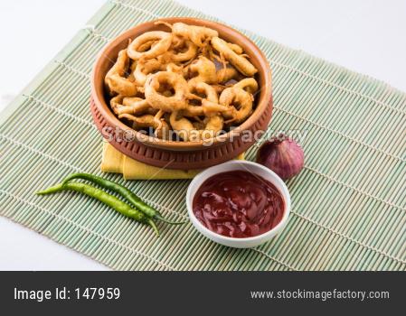 onion rings pakora