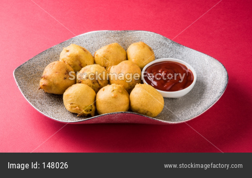 Batata Vada or Aloo Bonda