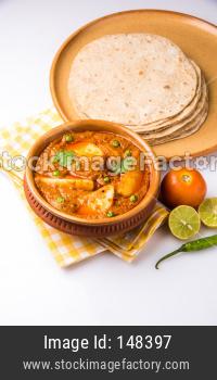 Aloo curry masala / aloo chi rassa bhaji