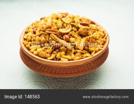 Farsan or chivada or chakna