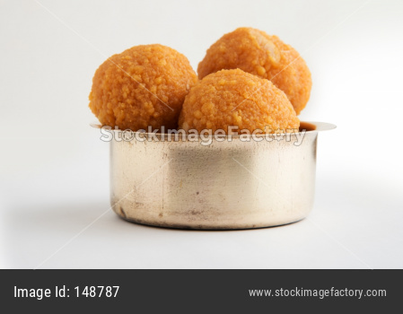 Motichoor Ladoo or bundi laddu