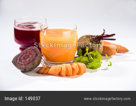 red Beetroot and carrot/gajar juice