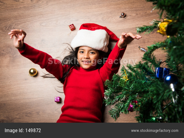 Kids Celebrating Christmas