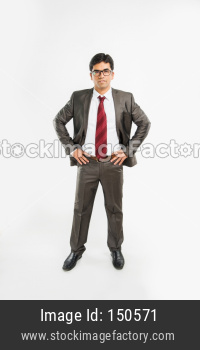 portrait of Indian young businessman