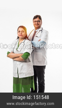 2 doctors or medical professionals