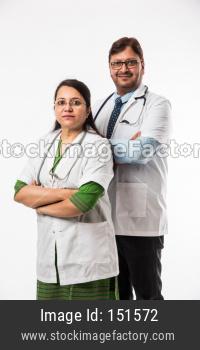 2 doctors or medical professionals