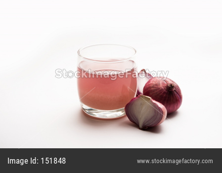 onion juice or onion syrup
