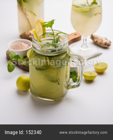 Shikanji / Nimbu Pani / Sweet Lemon Drink / Sharbat