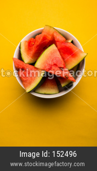 Watermelon / tarbooj fruit cube