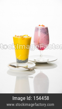 Falooda / Faluda is a popular Indian/asian cold drink