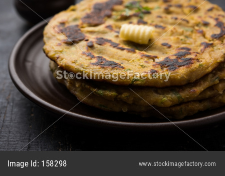 Thalipeeth is a multi grain pan cake from Maharashtra, India