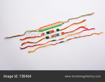 Tricolour Rakhi for Independence Day / Raksha Bandhan which is on the Same Day in 2019