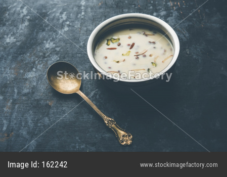 Basundi / Rabri or Rabdi - is a dessert made of condensed  milk and dry fruits