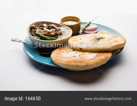 Chole Kulche or Choley Kulcha