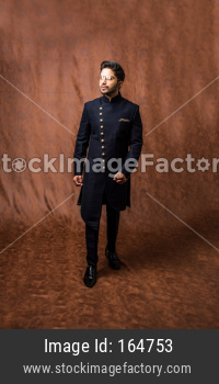 Indian man / bridegroom wears ethnic or traditional cloths