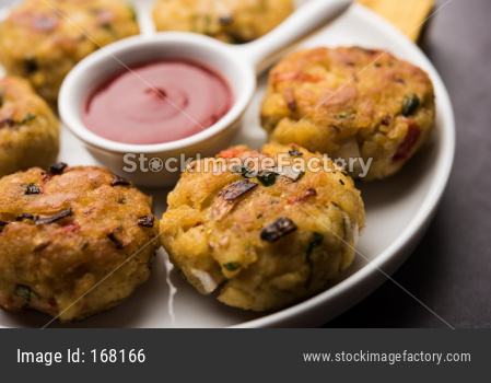 Veg Poha Cutlet or flattened Rice Patties