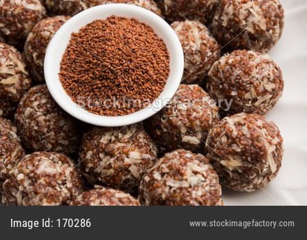 Aliv Laddu, Halim Ladoo or Garden cress Seed sweet Balls a very nutritious food in winters or for New Moms. popular food from In