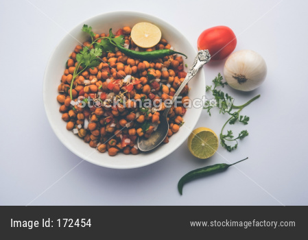 Black Chickpea Chaat / Kala Chana Chat