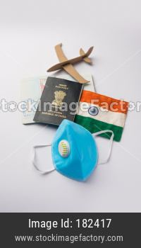 Travel and tourism concept in corona pandemic for wedding, education or vacation